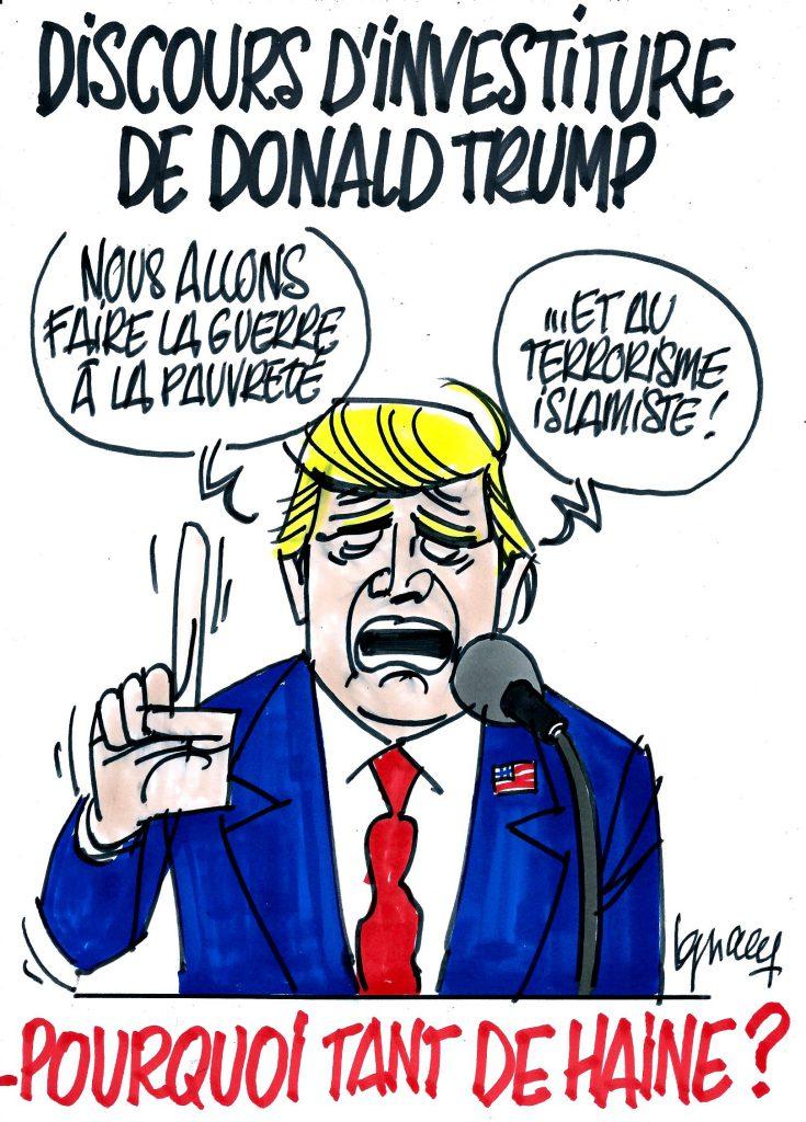 Ignace - Discours d'investiture de Trump