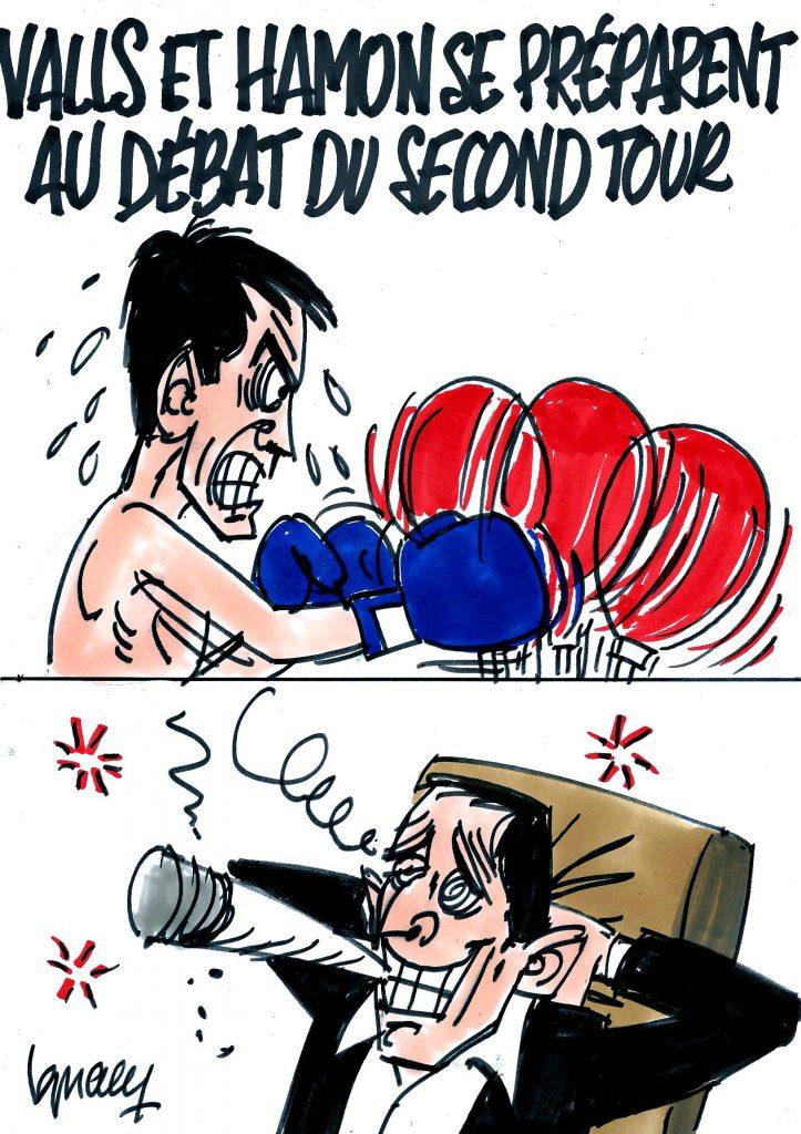 Ignace - Valls et Hamon se préparent au débat du second tour