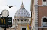 McDo s'installe au Vatican avec l'accord du pape François