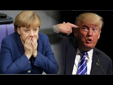 """Résultat de recherche d'images pour """"Merkel et Trump Images"""""""