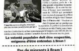 Centre pour migrants à Bram : Civitas avait raison et attend les excuses d'André Viola