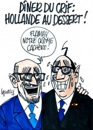 Ignace – Hollande au dîner du Crif