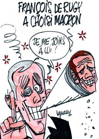 Ignace - François de Rugy a choisi Macron