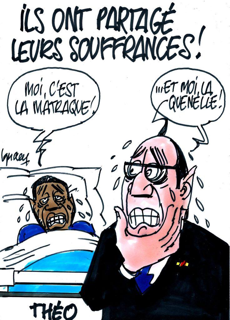 Ignace - Hollande a rendu visite à Théo