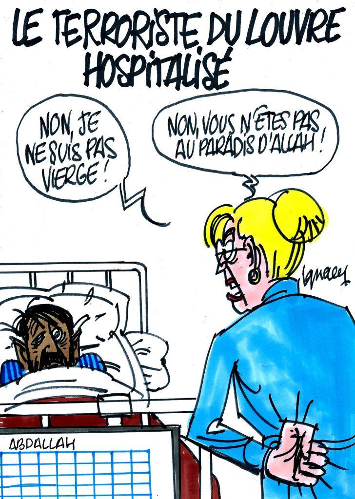 """""""Ignace – Le terroriste du Louvre hospitalisé"""" est verrouillé Ignace – Le terroriste du Louvre hospitalisé"""