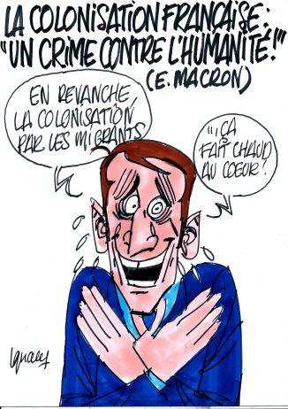 Ignace - Macron et la colonisation