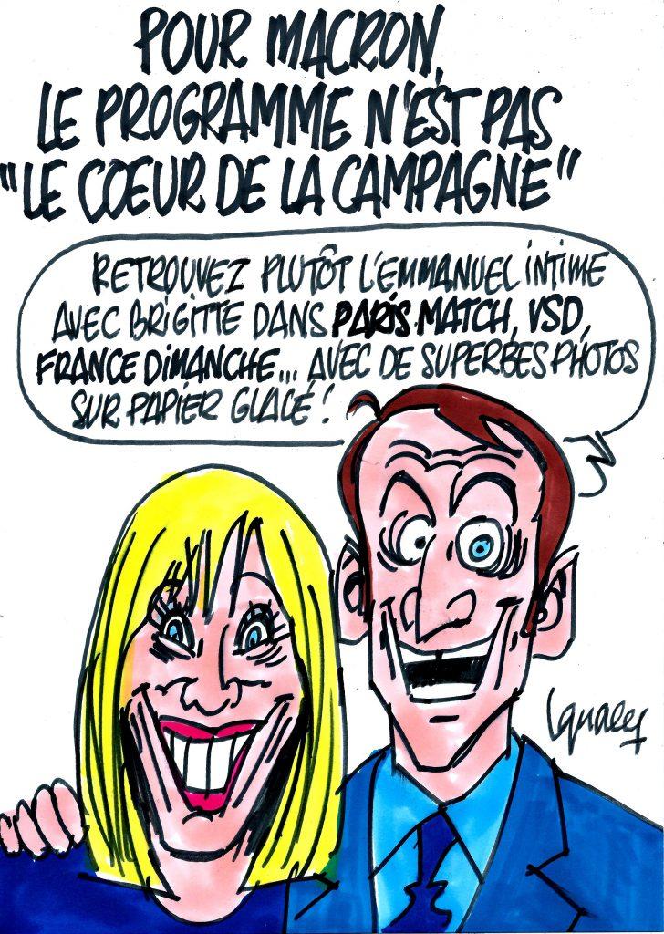 """Ignace - Macron : le programme n'est pas """"le cœur de la campagne"""""""