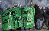 Meeting de Marine Le Pen à Nantes: extrême-gauche ultra-violente, policiers blessés, bus vandalisés…