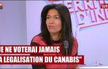 Samia Ghali, sénatrice : «Je ne voterai jamais la légalisation du cannabis !»