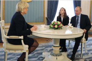 Marine Le Pen reçue officiellement au Kremlin par Vladimir Poutine et ensuite à la Douma (Vidéos mises à jour)