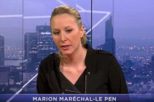 «Coup d'État du conseil constitutionnel»: Marion Maréchal-Le Pen évoque le programme conservateur de la candidate souverainiste dont elle se fait la porte-parole
