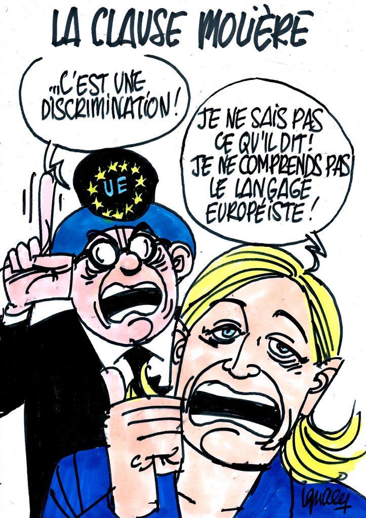 Ignace - L'UE et la clause Molière