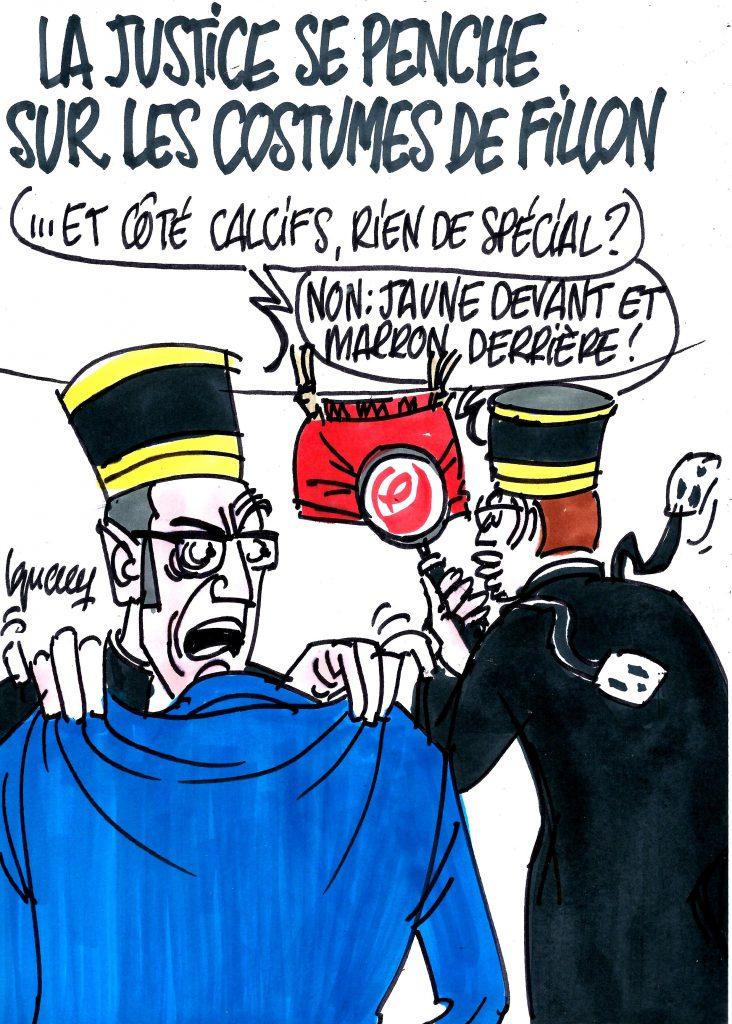 Ignace - La justice se penche sur les costumes de Fillon