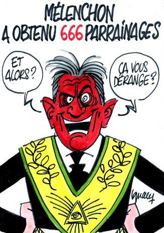Ignace - Mélenchon a obtenu 666 parrainages