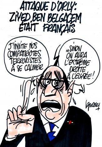 Ignace - Terrorisme à Orly