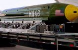Les États-Unis larguent une méga-bombe, la mère de toutes les bombes, en Afghanistan