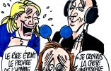 Ignace - Marine Le Pen hilare au sketch de Canteloup