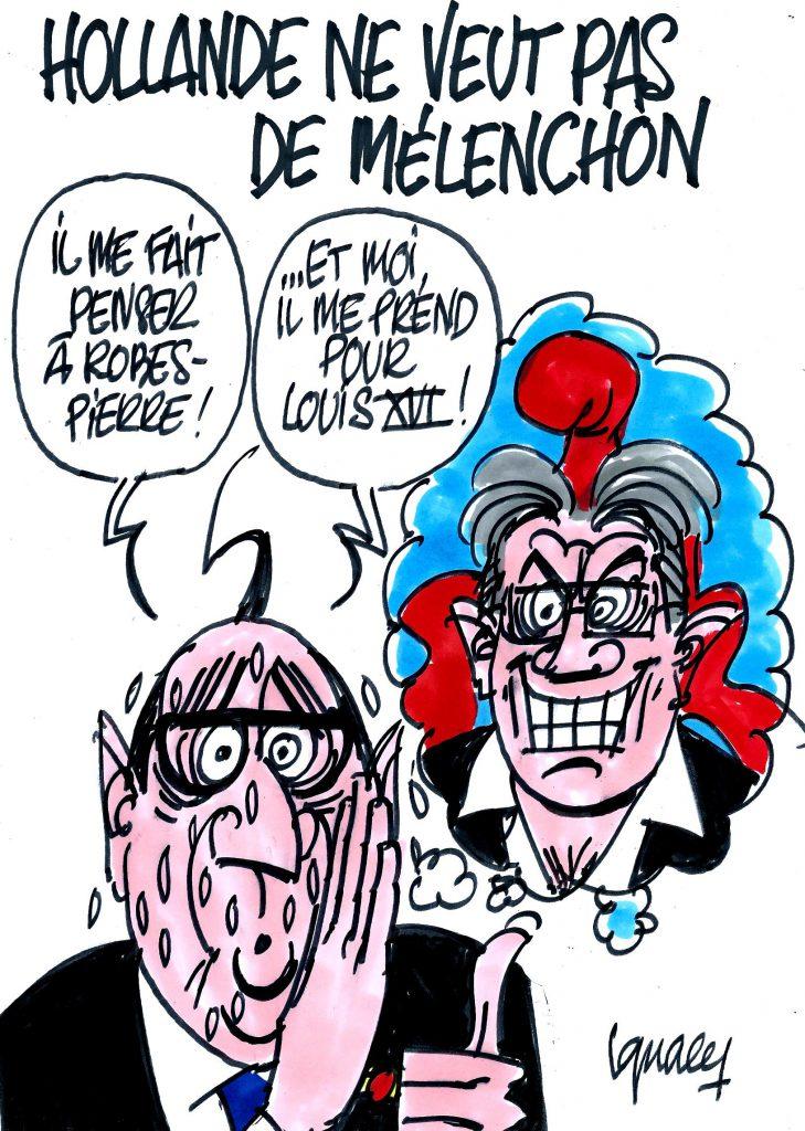 Ignace - Hollande ne veut pas de Mélenchon