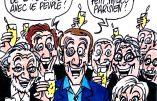 Ignace - Macron et la fête à la Rotonde