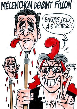 Ignace - Mélenchon devant Fillon