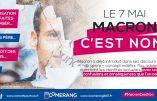 La Manif pour tous : «Macron, c'est non !»