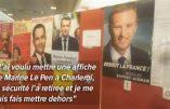 Aucune affiche de Marine Le Pen dans les bureaux de vote pour les Français de Belgique