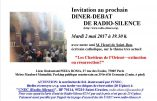 2 mai 2017 à Paris – Dîner-débat avec Henri de Saint-Bon «Les chrétiens d'Orient : extinction ou résurrection ?»