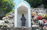 La Vierge noire de Ste Marie de la Réunion profanée