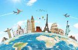 Un monde de tourisme