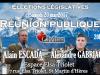Législatives 2017 en Isère – Réunion publique avec Alain Escada et Alexandre Gabriac ce samedi 20 mai à 20h
