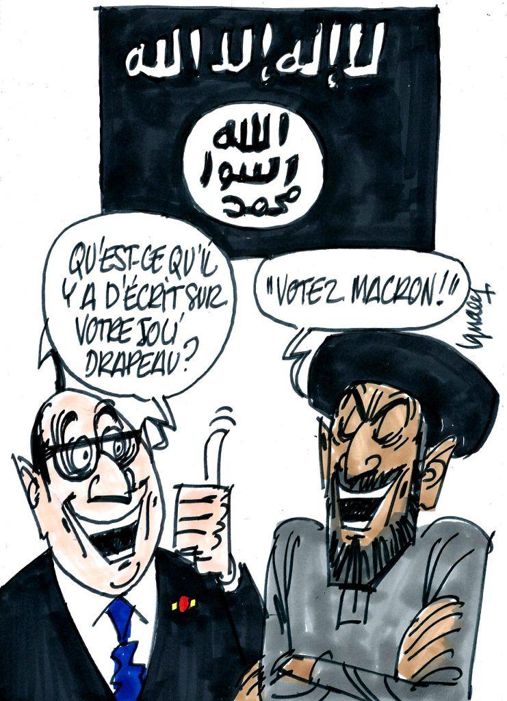 Ignace - Daech s'invite à la présidentielle