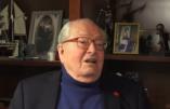 Jean-Marie Le Pen au sujet des enjeux de l'élection présidentielle