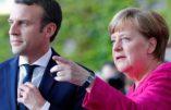 Axe Paris-Berlin pour encore plus d'Union européenne