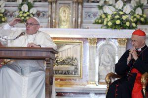 Le pape François à Gènes réaffirme l'ouverture inconditionnelle des frontières