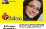 Céline Thomas, candidate Civitas dans la 5e circonscription de la Loire