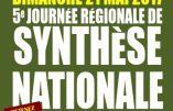21 mai 2017 à Nieppe – Journée régionale de Synthèse Nationale