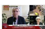 Marine Le Pen réagit au nouvel attentat de Londres: «Il faut arrêter l'immigration terreau du terrorisme»