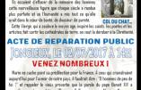2 juillet 2017 à 14h – Acte de réparation après une vague de profanations antichrétiennes en Savoie