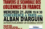 21 juin 2017 à Paris – Conférence sur le scandale des éoliennes en France