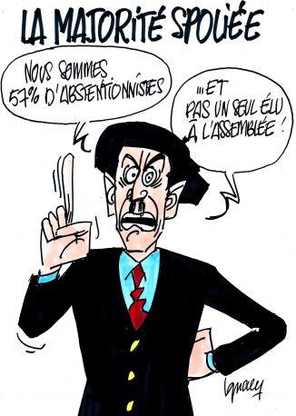 Ignace - Majorité spoliée