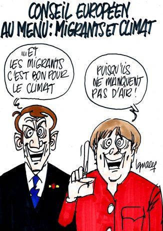 Ignace - Migrants et climat au menu du Conseil européen
