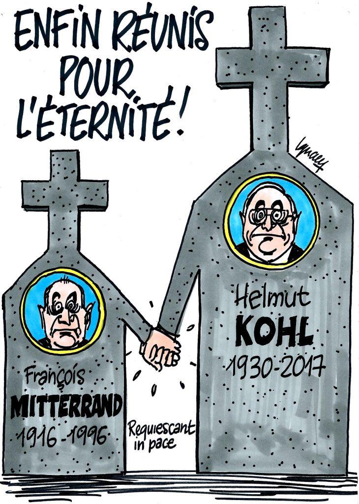 Ignace - Kohl a rejoint Mitterrand