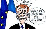 Ignace - Macron à Oradour-sur-Glane
