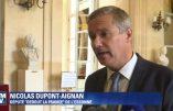 Un grand chef viré par un petit chef, Nicolas Dupont-Aignan brocarde Macron