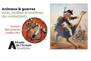 Exposition «Animaux & Guerres» à Paris jusqu'au 9 octobre 2017