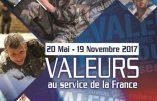 Exposition «Valeurs au service de la France» à Draguignan jusqu'au 19 novembre 2017
