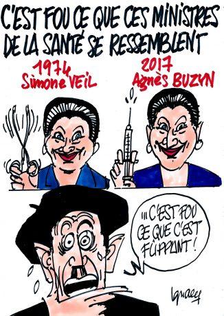 Ignace - Ressemblances entre ministres de la Santé