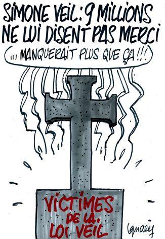 Ignace - Simone Veil n'a pas que des partisans