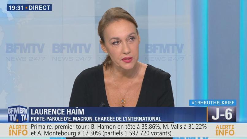 Laurence Haïm quitte La République en Marche