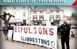 5 août 2017 – Rassemblement contre le placement d'immigrés illégaux dans un hôtel de Chalon-sur-Saône